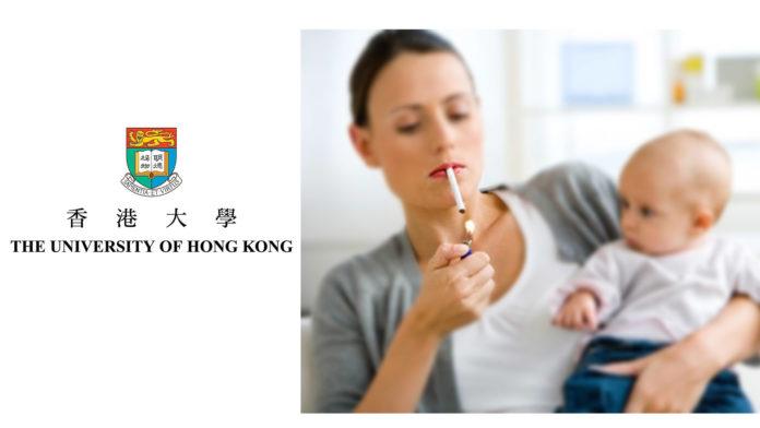 Sigaretta e fumo passivo: danni alla vista dei bambini
